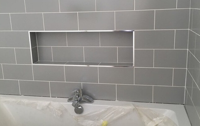 MOSA tiles in the bathroom