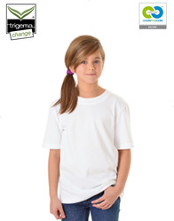 Trigema - Children's T- 100% Organic Cotton - White
