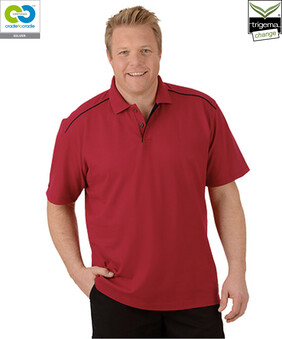 Mens Ruby Polo T-Shirts - 2020