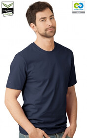 Mens Navy Round Neck T-Shirts - 2019