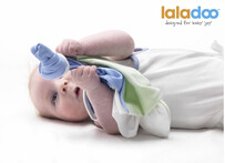 Laladoo - Snuzi - White/Blue/Green