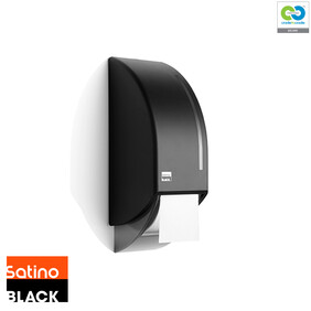 Satino Black - Toilet Roll Dispenser