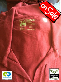 Trigema SALE - Womans XXL Sangria Polo T-Shirt