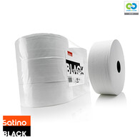 Satino Black - 380M Jumbo Toilet Rolls