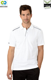 Mens White Polo T-Shirt - 2019