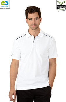 Mens White Polo T-Shirt - 2020