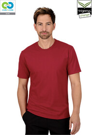Mens Ruby Round Neck T-Shirts - 2019