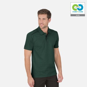 Mens Fir Green Polo T-Shirt - 2020