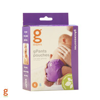gNappies - Pouches - Small - 6 Pack