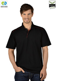 Men's  Black Polo T-Shirt -  2019