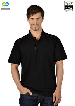 Men's  Black Polo T-Shirt -  2020