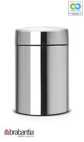 Brabantia - Slide Waste Bin Matt Steel - 5L