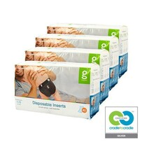 gNappies Disposable Inserts,Newborn/Small-Case(4 pack)