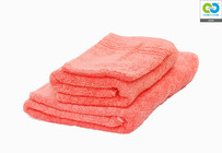 Clarysse - Coral - Single Towel Pack