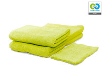 Clarysse - Green - Single Bath Towel