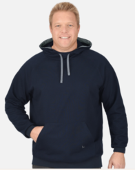 Men's Organic Navy Hooded sweater - 2019